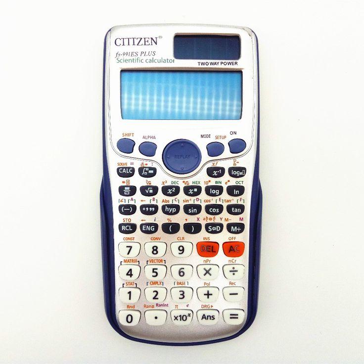 Cheap price US $18.00  991ES Plus Scientific Calculator Dual Power With 417 Function Calculadora Cientifica English specification  #Plus #Scientific #Calculator #Dual #Power #Function #Calculadora #Cientifica #English #specification  #Internet