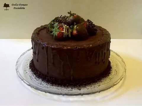 Chocolate con frutillas