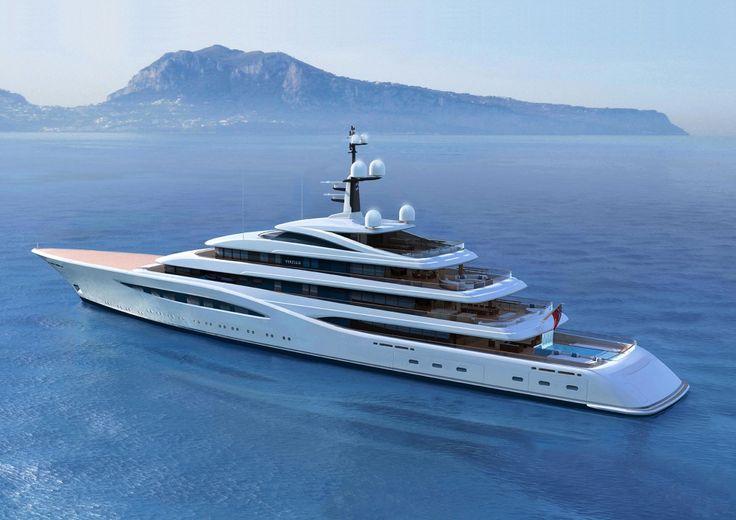 Exclusive: Feadship's 96m project Vertigo under construction | SuperYacht Time…