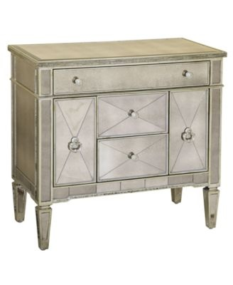 Marais Mirrored Small Nightstand Chest Shops Products