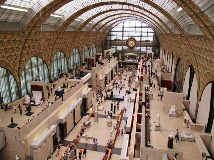 jul2013 Musée d'Orsay, old railway station adaptive reused as a museum, love it. #jiaxintravels