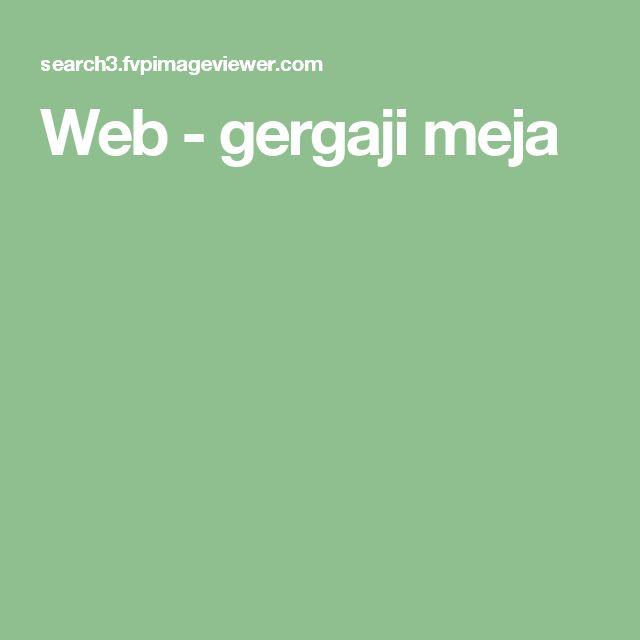 Web - gergaji meja