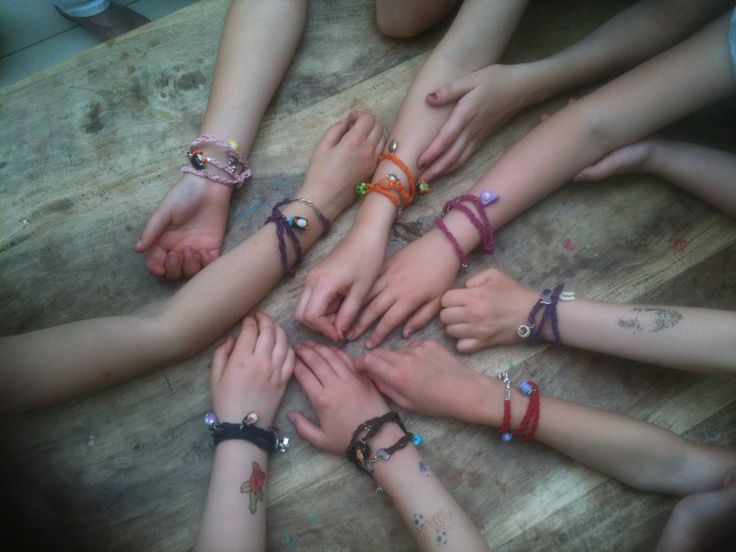 kinderfeestje wikkelarmbanden