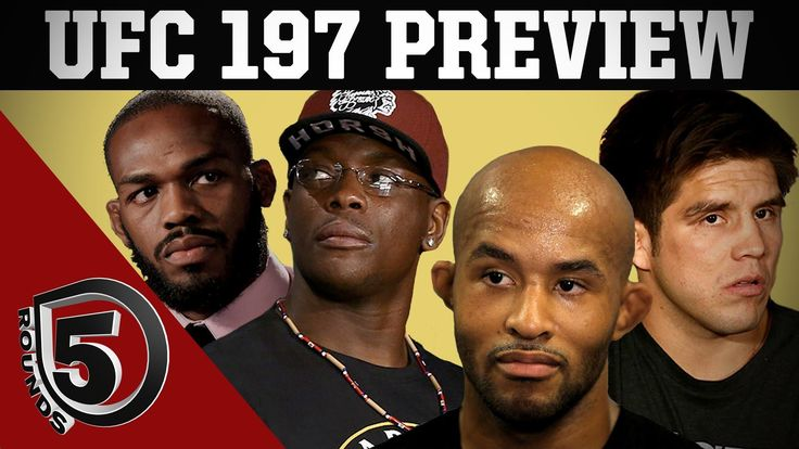 awesome UFC Fight Night Tampa Aftermath, UFC 197 Preview on 5 Rounds - Part 2 & 3