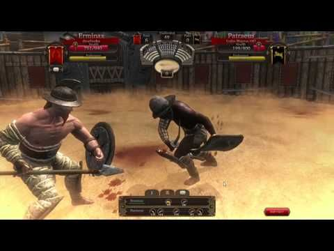 Gladiators Online - RAW Gameplay 1 - Gladiators Online [Death Before Dishonor] is a Free to play Combat management MMO blood sport Game that makes players the owner of a gladiator team in ancient Rome