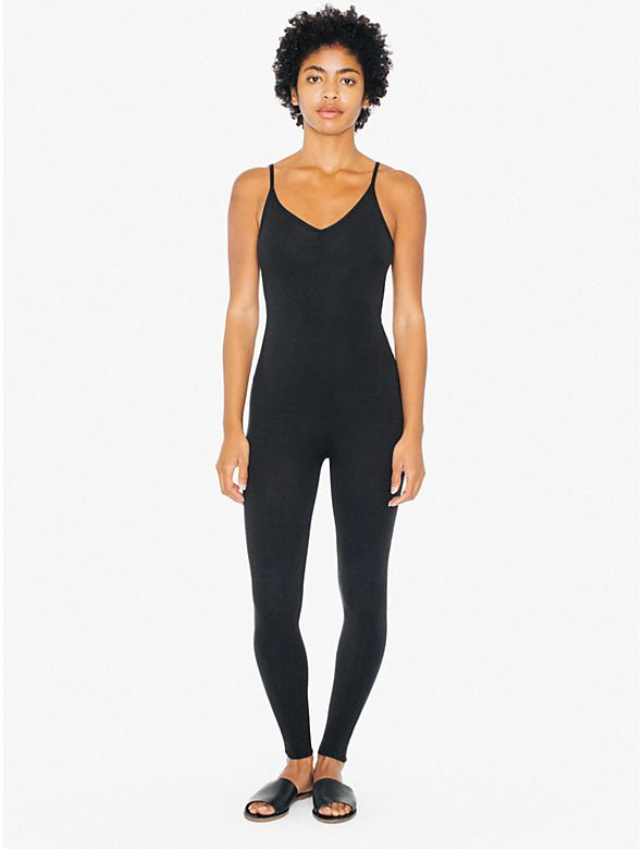 This unitard can be used as a layer piece under a skirt, or as an adventurous fashion statement by itself.