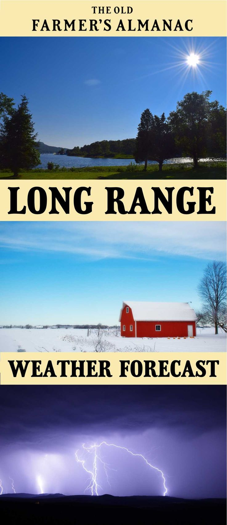 174 best almanac weather watchers images on pinterest weather long range weather forecast for 2018 weather accurate from the original old farmers sciox Gallery
