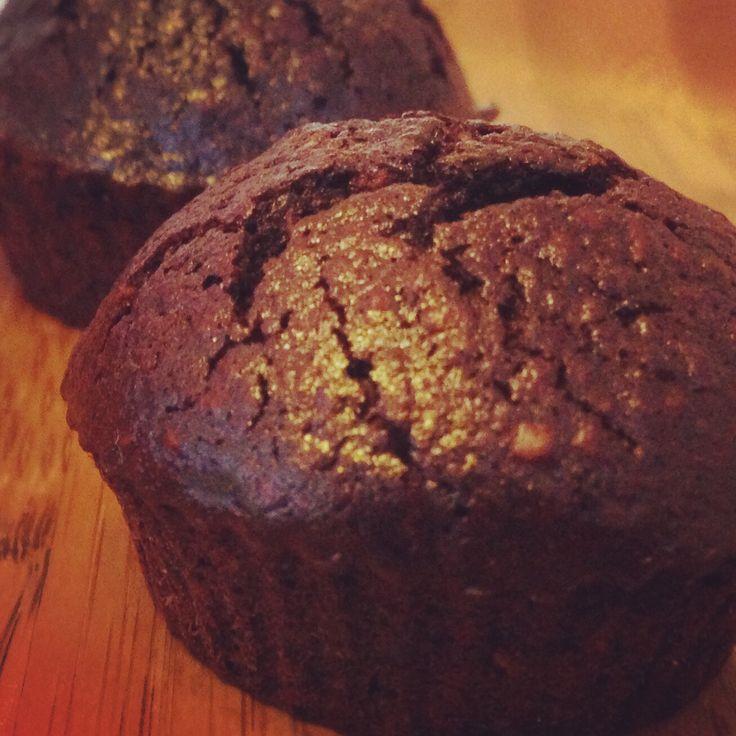 Flourless& no oil mini chocolate cakes