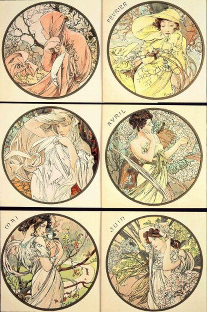Alphonse Mucha Art | Alphonse Mucha