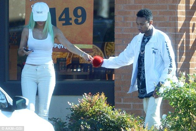 Craving a take away? It seems that Kylie Jenner , 18, hadn't quite had her fill of take aw...