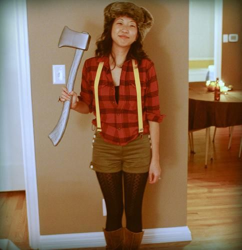 A Lumberjack Costume For Women