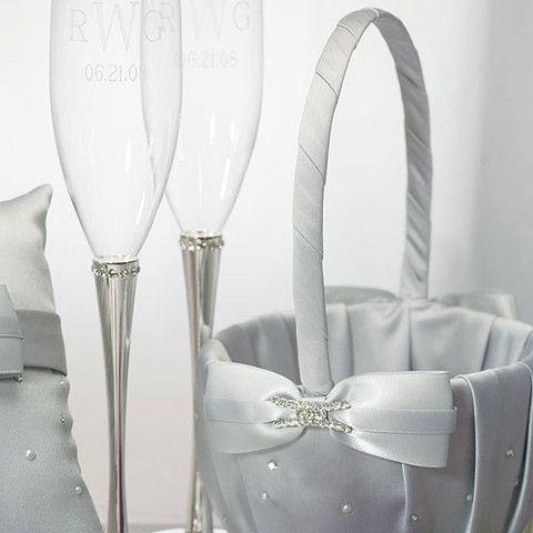 Platinum By Design Flower Girl Basket