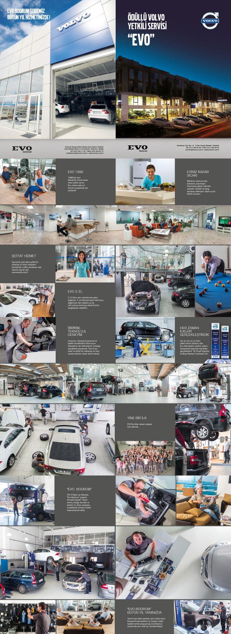 EVO Broşür Tasarımı ve Fotoğraf Produksiyonu