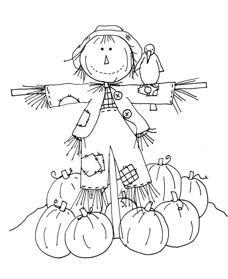 Fall Coloring Pages for Kindergarten Coloring Pages