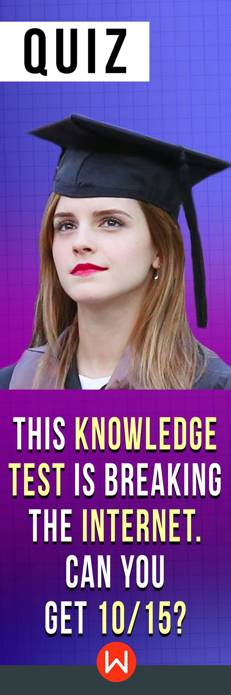 Do you have the power of knowledge? Are you smarter that Hermione Granger? Let's see if you can ace these knowledge trivia questions. knowledge quiz, Fun quiz, Random questions test. How smart are you really?