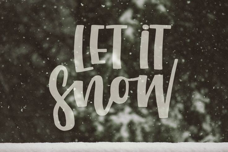 Christmas Themed Lettering Set by mky on @creativemarket