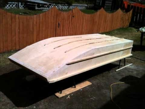 Home made wooden Jon Boat - YouTube | Building Projects - Woodworking | Pinterest | Boating ...