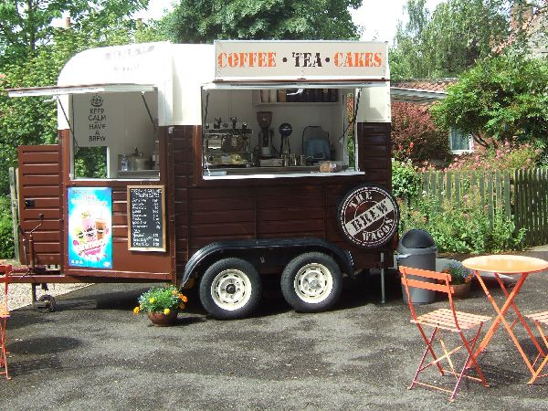 Horse trailer conversion - food truck