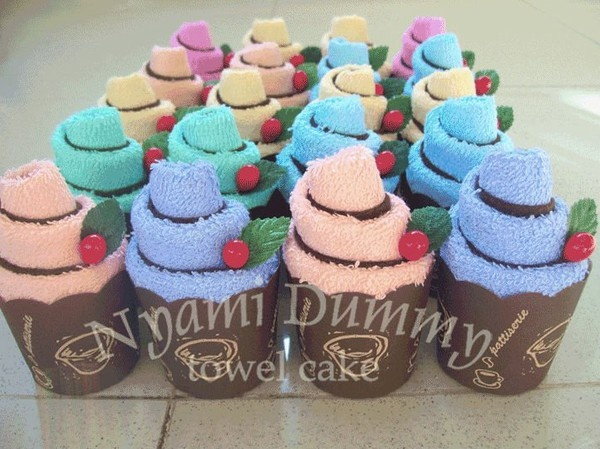 muffin towel cakes