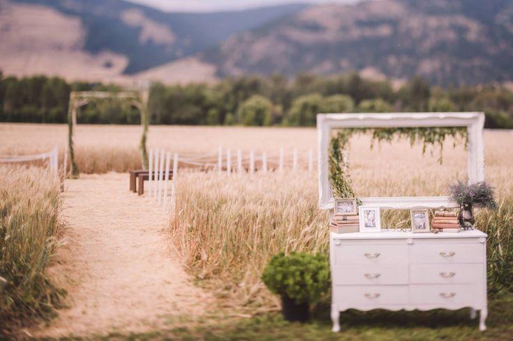 #arbour #ceremony #ceremonydecor #wheat #ceremonyseating #barn #wedding #barn wedding #okanagan #rustic #barnwood https://www.facebook.com/silversagestables