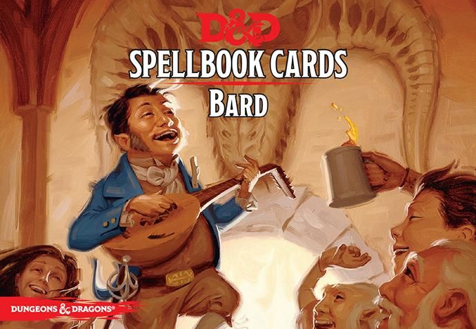 D&D: Spellbook Cards | Bard