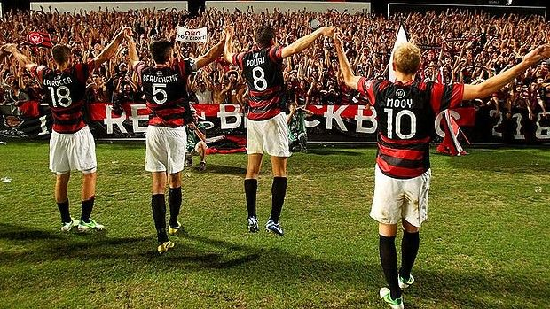 Western Sydney Wanderers - the best fans in the land? Discuss. :)