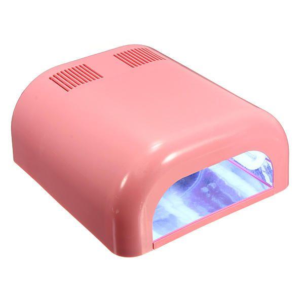 36watt Pro Uv Curing Lamp Salon Nail Art Dryer Light Timer Lamp Nail Art Tools From Health Beauty Hair On Banggood Com Lights Timer Nail Salon Lamp