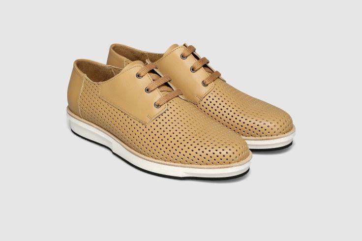 Sapatos Plataforma PRUDÊNCIO X EUREKA - Camel