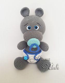 Baby Hippo Crochet Pattern