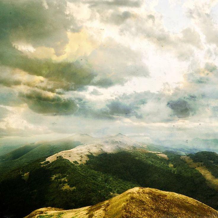 Polish Bieszczady mountain