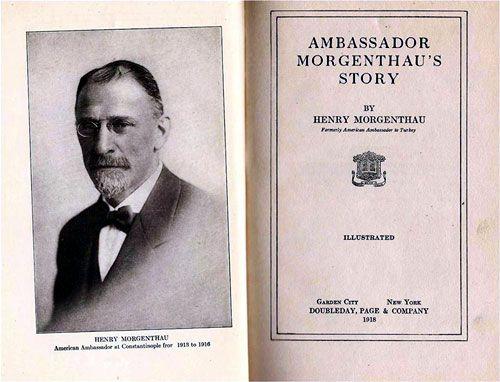 Ambassador Morgenthau's Story http://greek-genocide.net/index.php/bibliography/books/182-ambassador-morgenthau-s-story