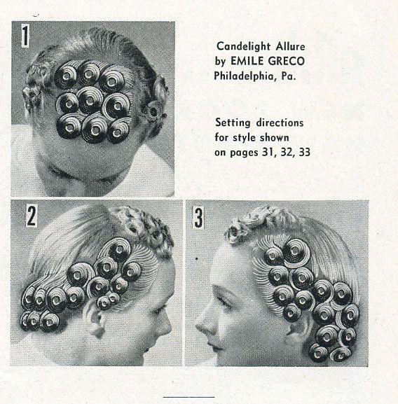 more pin curls