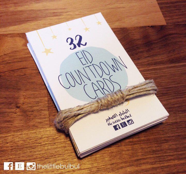 32 Eid Countdown Cards for Ramadan, Ramadan, Eid, Eid Coutdown, Ramadan decoration, Moon cycle, Ramadan Cards, Eid Cards by Thelittlebulbul on Etsy https://www.etsy.com/ca/listing/289138169/32-eid-countdown-cards-for-ramadan