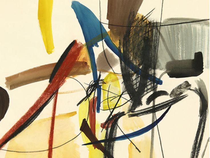 Pinturas abstratas de Hans Hartung tomam conta do CCBB em exposição