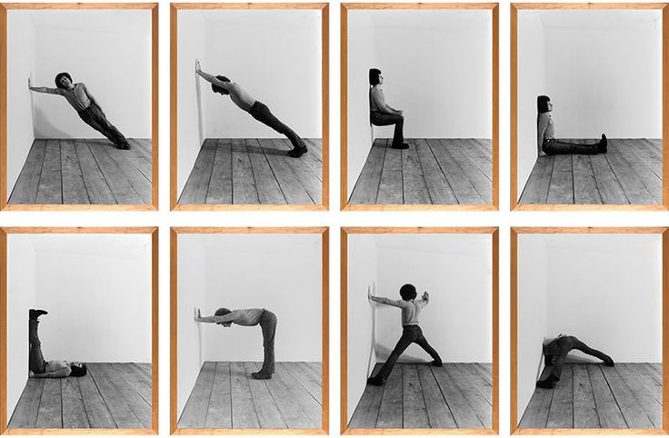 Klaus Rinke is a German artist who explored several artistic means (painting, sculpture) before concentrating on body… | Transformations, Body, Sequence photography