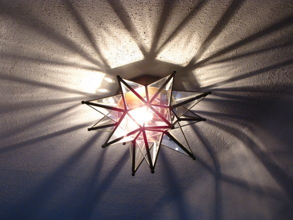 Second star to the right, and straight on 'till morning! Star Light Fixture