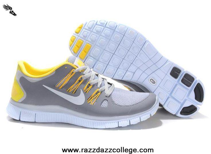 ... Buy 579959-730 Light Gray Yellow Nike Free 5.0 Womens ... 3586789894