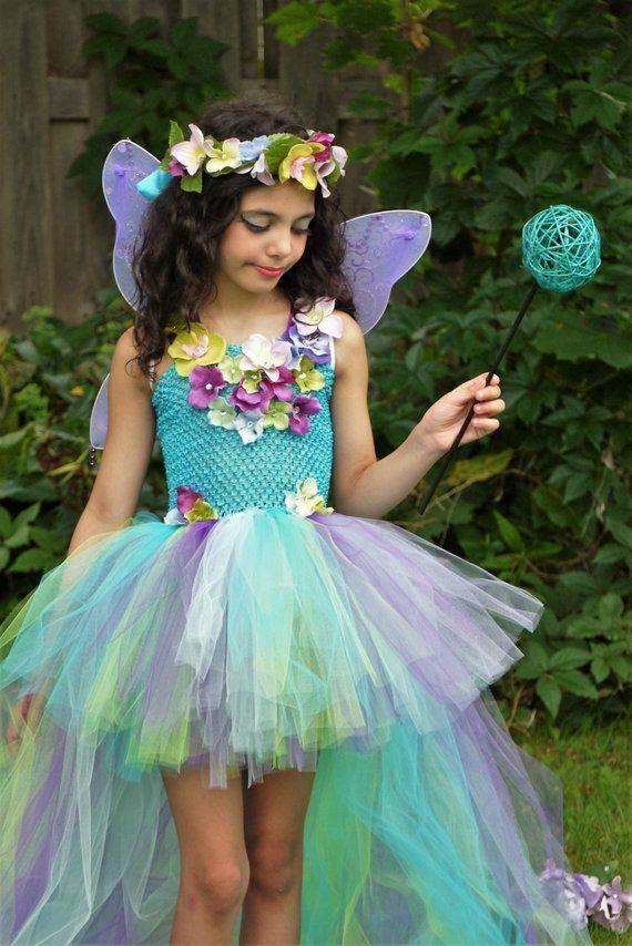 Turquoise Fairy Dress