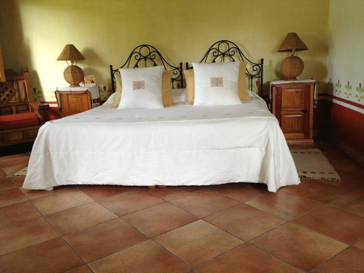 Habitación Cama King Hotel Huerta Real, #Mazamitla