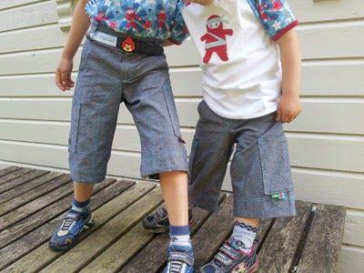 Shorts til sommeren. Ottobre design.
