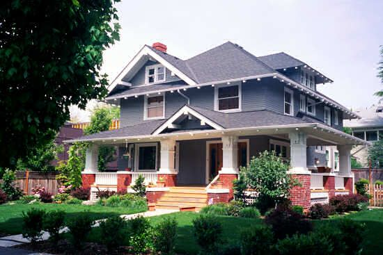 American Foursquare, Irvington Historic Neighborhood, NE Portland, OR