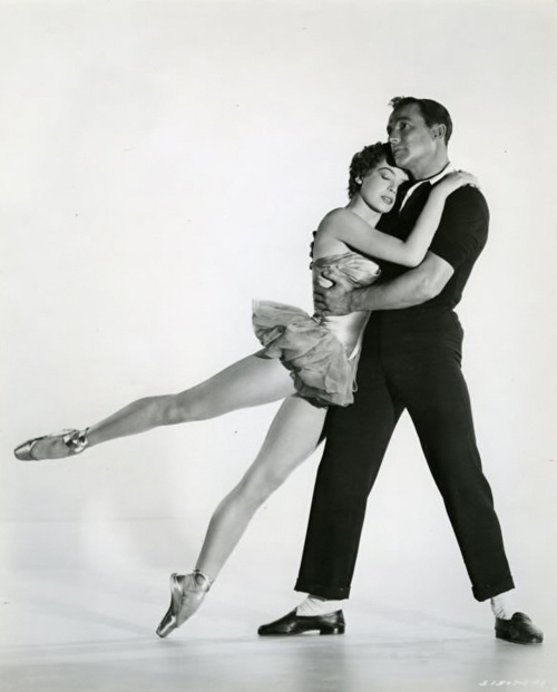Gene Kelly and Leslie Caron
