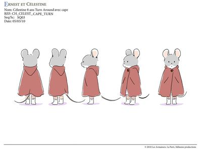 73 best turn around poses images on pinterest drawing - Ernest et celestine coloriage ...