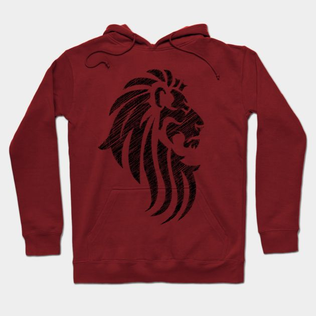 Lion Tribal Tattoo Style
