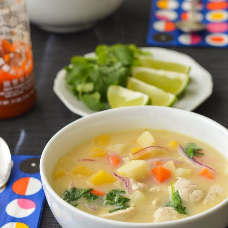 Quick winter coconut soup recipe soups with low sodium for Low sodium fish sauce