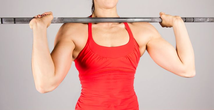 single strength-training exercise that builds upper-body strength, balance, and symmetry and can be done in a variety of different ways and equipment? Sign us up!