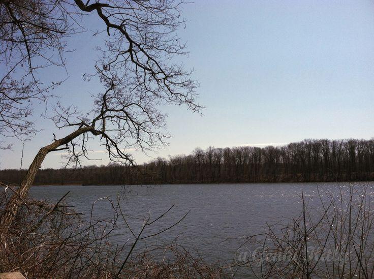 Worster Lake at Potato Creek State Park Indiana