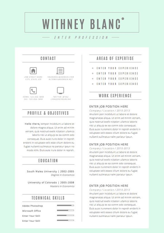 16 best resume postcard images on Pinterest Resume, Creative - postcard format template