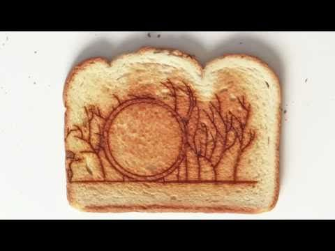 OK Go Video.  15 still shots per SECOND.  and lots of toast! kinda weird, but cool video idea.  love the song.