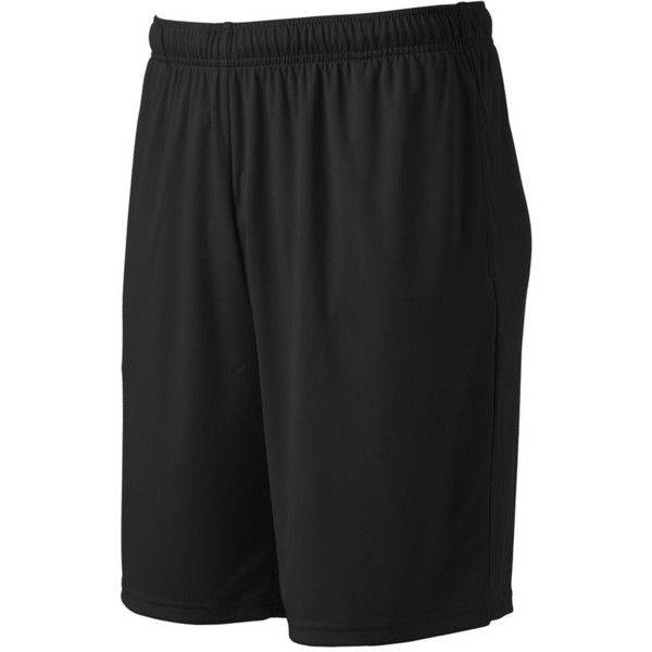 Big & Tall Tek Gear® DRY TEK Shorts ($15) ❤ liked on Polyvore featuring men's fashion, men's clothing, men's activewear, men's activewear shorts, black, mens activewear and mens activewear shorts
